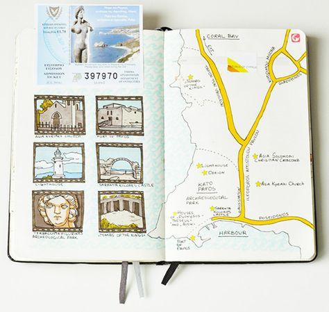 carnet de voyage arts plastiques arts appliqu s. Black Bedroom Furniture Sets. Home Design Ideas