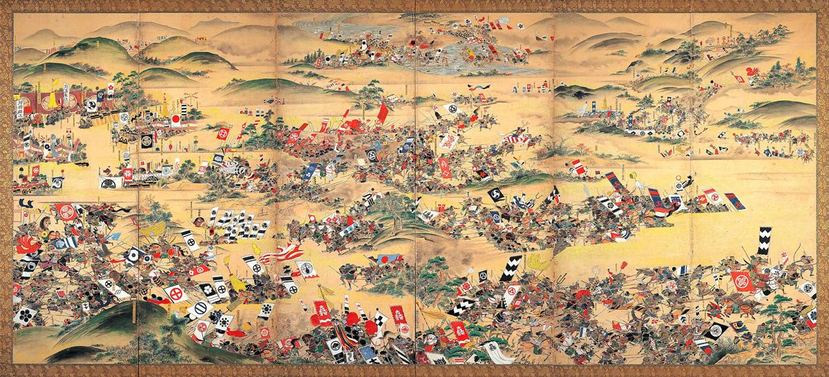 Sekigahara_Kassen_Byōbu-zu_Gifu_History_Museumb